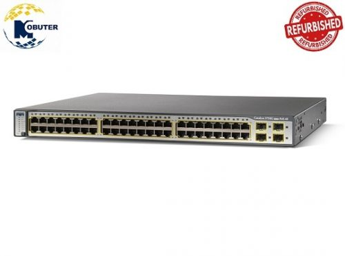 WS-C3750G-48PS-S سوئیچ سیسکو